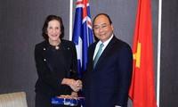 阮春福会见澳大利亚新南威尔士州领导人