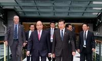 阮春福出席东盟-澳大利亚特别峰会的相关活动