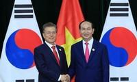 """韩国媒体:越南是韩国总统文在寅的""""新南方政策""""中的主要国家之一"""