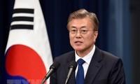 韩国总统文在寅希望把韩越战略合作伙伴关系提升至新水平