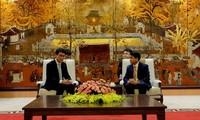 促进河内与中国香港经济投资合作交流