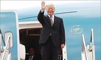 越共中央总书记阮富仲对古巴进行国事访问