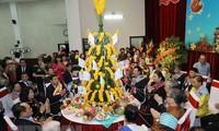 老挝驻越大使馆在河内举行活动喜迎传统新年