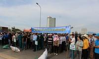 岘港市响应越南海洋岛屿周