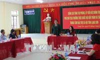 越南国会副主席丛氏放视察谅山省