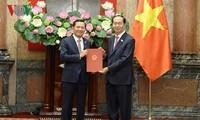 陈大光任命阮文游为最高人民法院副院长