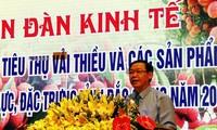 越南政府副总理王庭惠:北江省荔枝丰产又丰收