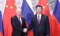 中国和俄罗斯促进全面战略伙伴关系