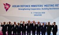 面向地区和平与稳定的东盟防务高官会在新加坡举行