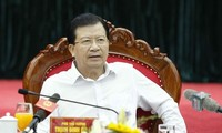 越南政府副总理郑庭勇:遏制应对事故和自然灾害中的主观现象