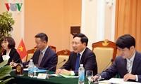越南和阿根廷外长举行会谈