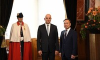 越南和瑞士关系在各领域不断发展