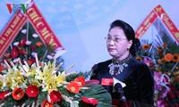 阮氏金银向槟椥省长发军授予人民武装力量英雄称号