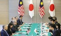 马来西亚总理对日本进行访问并促进双边关系