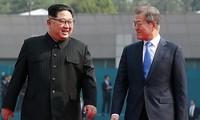 韩朝确定下一次峰会举行的时间和地点