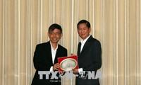 胡志明市和新加坡促进智慧城市建设合作
