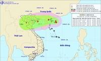 """越南各地加紧应对强热带风暴""""贝碧嘉"""""""