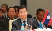 老挝总理通伦出席越南2018年世界经济论坛东盟峰会