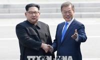 韩朝提请联合国将《板门店宣言》英译本作为正式文件散发