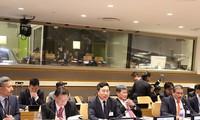 范平明在第73届联合国大会期间举行一系列活动
