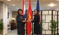 越南大使吴氏和主持海牙东盟委员会2018年9月例会