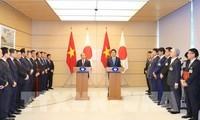 日本媒体刊发越南政府总理阮春福访日的消息