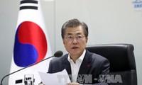 欧盟和韩国强调落实朝鲜半岛的自由贸易与和平承诺
