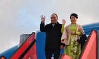 阮春福开始对丹麦进行正式访问