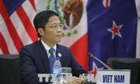 越南和欧盟重申贸易与投资协定的承诺