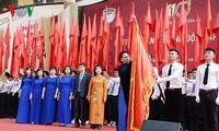 阮氏金银出席朱文安学校建校110周年