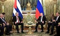 俄罗斯和古巴重申战略盟友关系