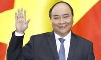 阮春福启程出席第33届东盟峰会