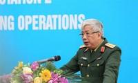 越南二号二级野战医院医疗队成立仪式举行