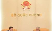 越南和加拿大加强防务关系