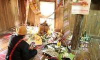 芒汪地区族人同胞的年初祭品