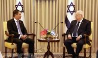 越南驻以色列大使杜明雄向以色列总统递交国书