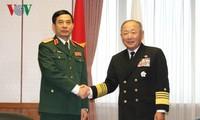 越南和日本国防合作不断扩大