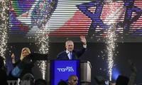 以色列媒体:以色列总理内塔尼亚胡大选中获胜