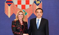 第8次中国-中东欧领导人会晤在克罗地亚举行