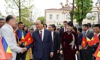 越南政府总理阮春福访问罗马尼亚的活动
