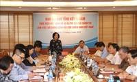 越共中央民运部部长张氏梅:加强退伍军人协会在民运工作中的作用