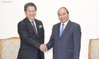阮春福总理会见日本国际协力银行执行董事前田匡史