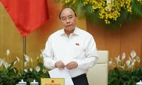 越南政府5月份工作例会