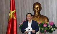 越南政府副总理王庭惠:以高质量、全面、广泛、创新、有效的方式加强融入国际经济