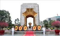 胡志明主席陵和英雄烈士纪念碑将从6月14日起暂停对外开放接待游客