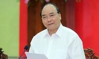 越南政府总理阮春福出席北部重点经济区发展会议