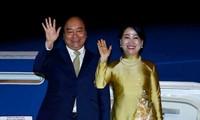 阮春福圆满结束出席20国集团峰会和访问日本行程