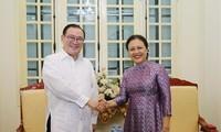 越南和菲律宾加强民间友好交流合作