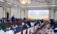 胡志明市领导人会见越南欧洲商会领导人
