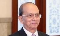 Staatspräsident Truong Tan Sang empfängt Myanmars Präsident Thein Sein